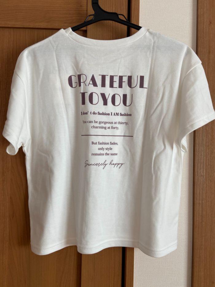 グレイル 白Tシャツのバックプリント