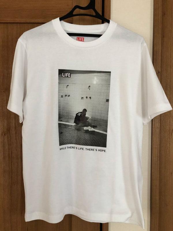 グローバルワーク プリントTシャツ WGGW×LIFE