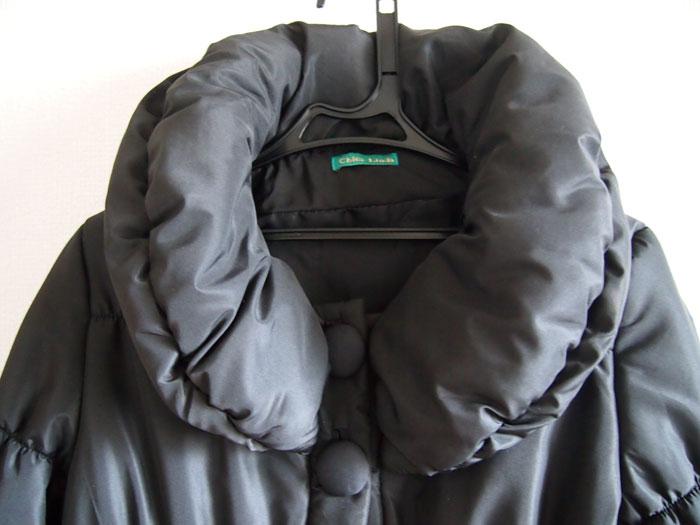 titivateの中綿ジャケットの襟