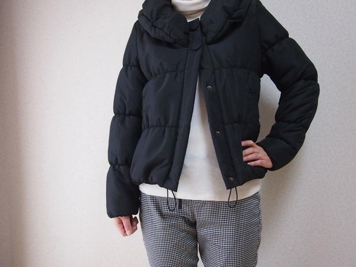 titivateの中綿ジャケットのコーデ